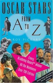 Cover of: The Oscar Stars from A to Z | Roy Pickard