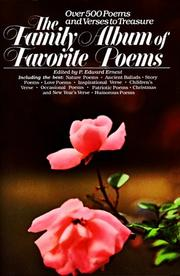 Cover of: The Family album of favorite poems |