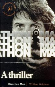 Cover of: Marathon Man (Bloomsbury Film Classics)