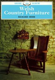 Cover of: Welsh Country Furniture | Richard Bebb