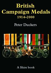 Cover of: British Campaign Medals 1914-2000