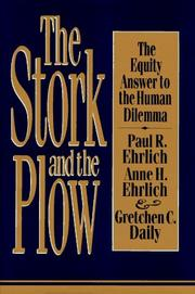 Cover of: The stork and the plow