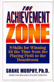 Cover of: The achievement zone