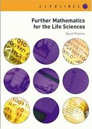 Cover of: Further Mathematics for Life Sciences