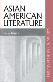 Asian American Literature by Bella Adams