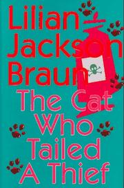 Cover of: The cat who tailed a thief