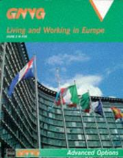 Cover of: Living and Working in Europe (Gnvq Advanced Options)
