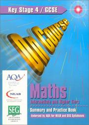 Cover of: On Course for Gcse Maths Intermediate and Higher Tiers (On Course) | Paul Metcalf