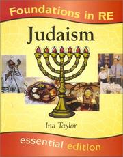 Cover of: Judaism (Foundations in RE) | Ina Taylor