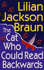 Cover of: The cat who could read backwards