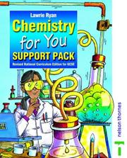Cover of: Chemistry for You | Lawrie Ryan