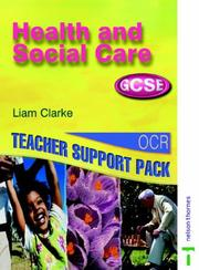 Cover of: Health and Social Care GCSE