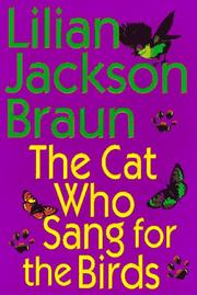 Cover of: The cat who sang for the birds
