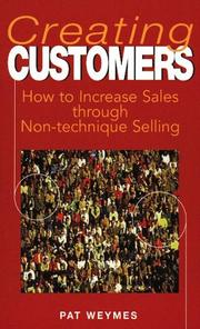 Cover of: Creating Customers | Pat Weymes