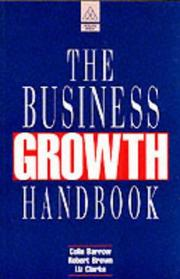 Cover of: The Business Growth Handbook