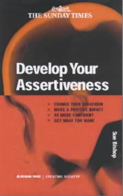 Cover of: Develop Your Assertiveness | Sue Bishop