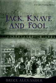 Cover of: Jack, Knave and Fool (Sir John Fielding #5)