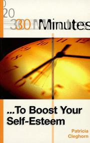 Cover of: 30 Minutes to Boost Your Self-esteem (30 Minutes Series)