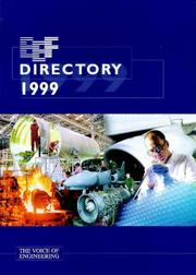 Engineering Employers' Federation directory by Engineering Employers' Federation.