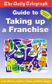 "Cover of: The "" Daily Telegraph"" Guide to Taking Up a Franchise"