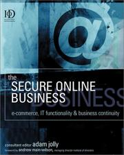 Cover of: The Secure Online Business | Adam Jolly
