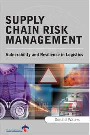 Cover of: Supply Chain Risk Management