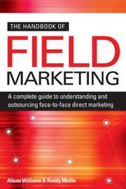 Cover of: The Handbook of Field Marketing | Alison Williams