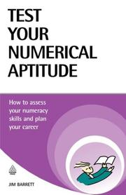 Cover of: Test Your Numerical Aptitude