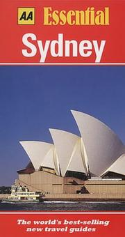 Cover of: Essential Sydney