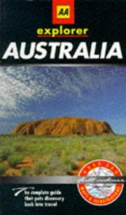Cover of: Australia (AA Explorer)