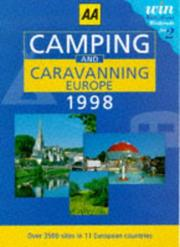 Cover of: Camping and Caravanning in Europe (AA Lifestyle Guides)