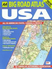 Cover of: Big Road Atlas USA, Canada and Mexico (AA Atlases)