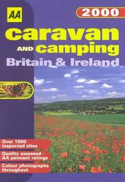 Cover of: Caravan and Camping (AA Lifestyle Guides)