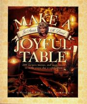 Cover of: Make a Joyful Table