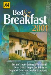 Cover of: Bed and Breakfast