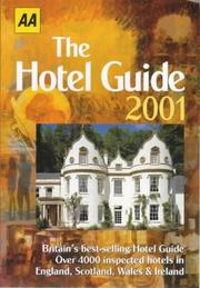 Cover of: Hotel Guide