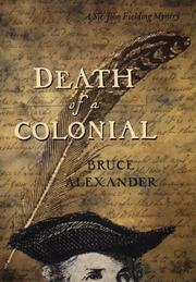 Cover of: Death of a colonial