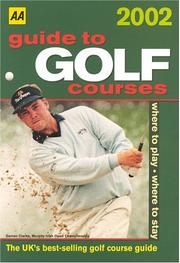 Cover of: Guide to Golf Courses (AA Guides to Golf Courses)