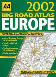Cover of: Big Road Atlas Europe (AA Atlases)