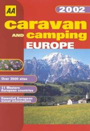 Cover of: Caravan and Camping Europe (AA Lifestyle Guides)