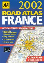 Cover of: Road Atlas France