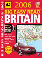 Cover of: AA Big Easy Read Atlas | AA Publishing