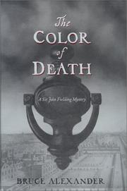 Cover of: The Color of Death (Sir John Fielding #7)