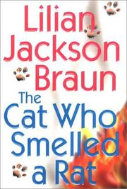 Cover of: The cat who smelled a rat