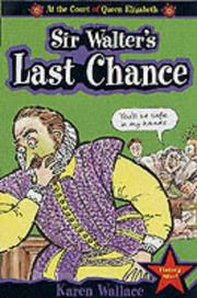 Cover of: Sir Walter's Last Chance (Court of Queen Elizabeth)