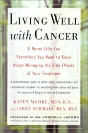 Cover of: Living Well with Cancer | Katen Moore