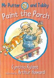 Cover of: Mr.Putter and Tabby Paint the Porch (Mr Putter & Tabby)
