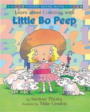 Cover of: Learn About Counting with Little Bo Peep (Nursery Rhyme Maths)