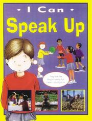 Cover of: Speak Up (I Can)