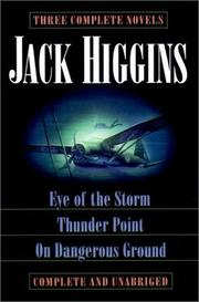 Cover of: Three complete novels | Jack Higgins